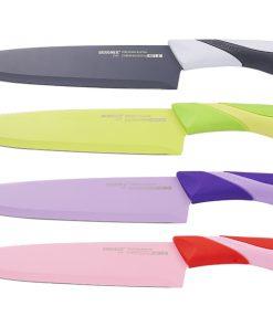 <p><b>Bergner BG-4071; Couteau de chef </b><strong comic='' ms='' sans='' style='font-family: '>20.3 cm</b></p><p>Lame: Acier inoxydable</p><p>Couleur: Vert