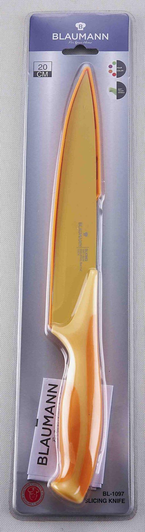 Blaumann BL-1097; Couteau à trancher avec étui de protection