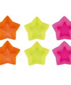 <p><b>Blaumann BL-1273; Cinq étoiles moule à gâteau en silicone 6 pcs</b></p><p>Matériel: silicone</p><p>Taille: 7 x 7 x 3 cm</p><p>Couleur: vert