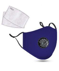 <p><b>PM2.5M: Masque en Coton Lavable Avec Filtres en Carbone 2</b></p><p>Restez en bonne santé et soyez protégé avec le masque réutilisable non médical PM2.5M