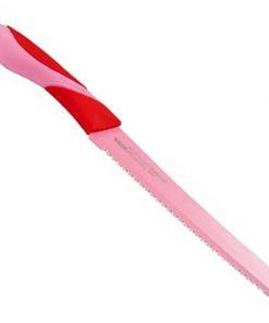 Bergner BG-4067; Couteau à pain avec revêtement antiadhésif 20cmLame: Acier inoxydablePoignée: thermoplastiqueCouleur: rouge vertTaille: 20 cmÉpaisseur: 1