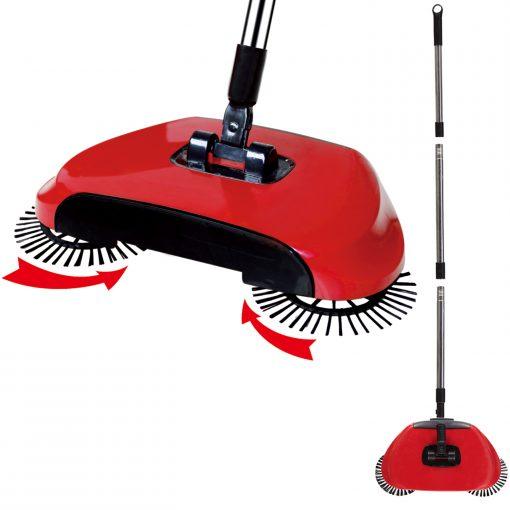 à la fois un nettoyeur de sol