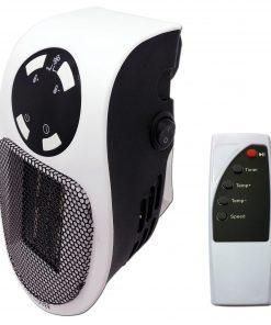 <p>Créez une pièce chaleureuse et confortable pendant la saison d'hiver avec le Cenocco CC-9079: chauffage portable. Cet appareil de chauffage fonctionne à l'électricité et utilise un élément chauffant en céramique qui se révèle plus rapide et plus efficace pour produire une chaleur abondante. La température est parfaitement maintenue pendant le fonctionnement grâce au capteur de température qui programme la chaleur. Capable de produire de 15 à 32 degrés
