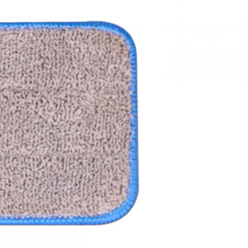le nettoyage sera toujours un jeu d'enfant. Cette tête de vadrouille mesure 34 cm sur 12 cm et est munie d'un support en tissu bouclé attaché à votre vadrouille à velcro. Conçu avec une conception de points à double canal qui fournit plus de surface de nettoyage et une bordure de couture serrée et une surface de vadrouille épaisse pour assurer un tampon de nettoyage durable. Cette microfibre nettoie comme nul autre et absorbe plus d'eau que les têtes de vadrouille ordinaires. Il peut être utilisé pour le nettoyage à sec et humide tout en offrant une surface lisse et propre