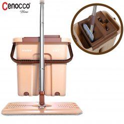 Cenocco CC-9070: Vadrouille Plate Avec SeauLa vadrouille peut être beaucoup plus facile avec la vadrouille plate avec seau Cenocco CC-9070