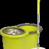 Cenocco CC-9057; Balai Serpillière Rotatif Tournant Essorage 360°  Système de rotation Double 360 °Absorbant l'humiditéContrôle total de la longueur de la tigeBarre en acier inoxydableVerrouillage du tubeBarre en acier inoxydableFibres superfines360° nettoyagePlateau universelApplicable à tous les types de sol SUPER ÉCONOMIC DE PUISSANCE / TEMPS / ÉLECTRICITÉSur la base de la conception innovatrice et de la théorie de déshydratation