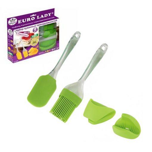 la spatule et le manche sont non toxiques et permettent de réagir chimiquement même avec un mélange ou une surface extrêmement chaude. L'ensemble de cuisson est sans danger pour les casseroles et les poêles antiadhésives