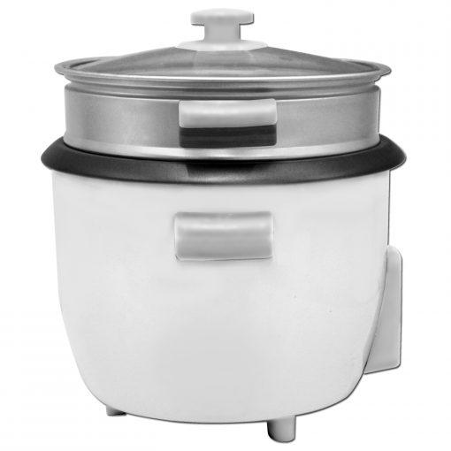 il peut cuire 10 tasses de riz cuit et peut accueillir 3 à 4 personnes. Facile à utiliser