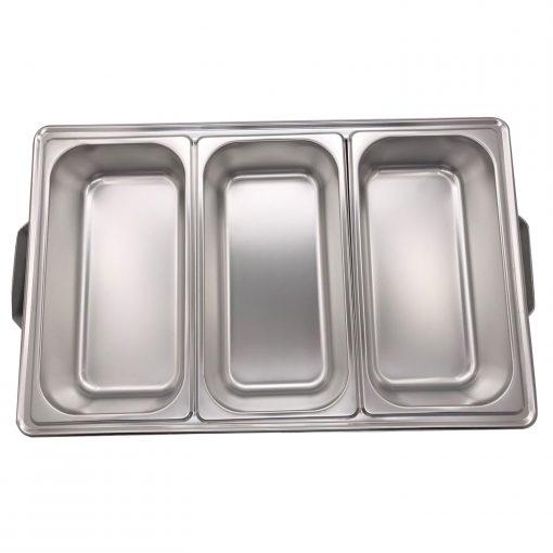 il est durable et peut résister à l'usure quotidienne. L'acier inoxydable de qualité alimentaire est poli à base de miroir et résiste à la rouille et à la corrosion
