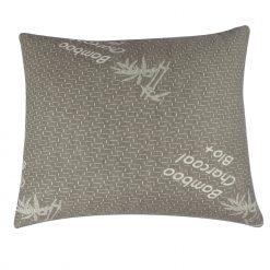 Herzberg HG-6050BC: Oreiller en Charbon de BambouDécouvrez le confort de l'oreiller en charbon de bambou Herzberg HG-6050BC. Cet oreiller haute densité est extrêmement doux et moelleux pour un sommeil réparateur. Cet oreiller est hypoallergénique