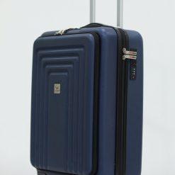 Herzberg Travel HG-8065BLU: Sac Cabine - BleuAssurez vos effets personnels en toute sécurité pendant tout le voyage et les voyages et profitez de votre voyage d'affaires et de vacances sans stress avec le sac de cabine Herzberg HG-8065BLU. Cet étui rigide est fabriqué à partir de matériaux ABS de première qualité