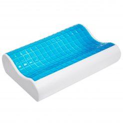 Herzberg comfort HG-5030GL; Oreiller mousse à mémoire de formeDécouvrez le confort et détendez-vous avec les oreillers en mousse à mémoire de forme orthopédique Gel de Herzberg. La mousse à mémoire de forme est douce et souple