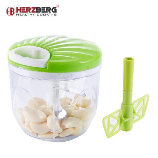 ce hachoir manuel manuel. Parfait pour trancher et mélanger des salades de légumes / fruits