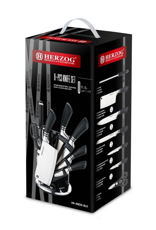 5)1 x ciseaux1 x support de couteau