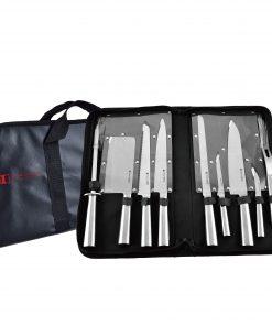 Imperial Collection IM-CB10-CC: Ensemble de 10 Couteaux Avec Sac De transportLa Collection Impériale IM-CB10-CC est un chef culinaire