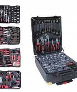 <p><b>Kraft Muller KM-326: Ensemble D'outils de 326 Pièces Avec clé à Cliquet Et étui En Aluminium</b></p><p>Le Kraft Muller KM-326 est l'outil idéal pour les mécaniciens professionnels et à domicile. Emballé avec 326 outils à main