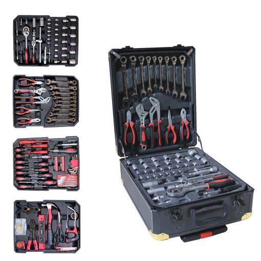 Kraft Muller KM-326: Ensemble D'outils de 326 Pièces Avec clé à Cliquet Et étui En AluminiumLe Kraft Muller KM-326 est l'outil idéal pour les mécaniciens professionnels et à domicile. Emballé avec 326 outils à main