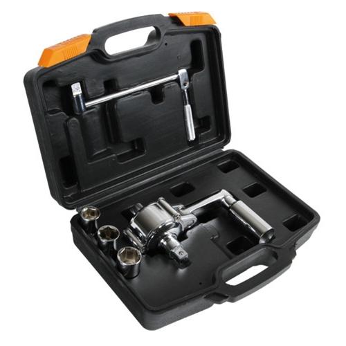 compacte et facile à transporter est portable et est livrée avec une robuste soufflette moulée. Parfait pour les différentiels