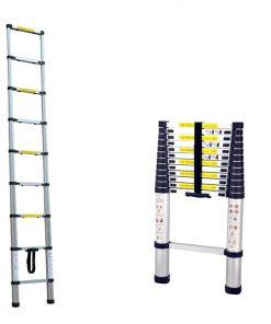 <p><b>L'échelle de 2m60 télescopique HERZBERG ®</b> <b>au service des bricoleurs</b></p><p>L'échelle télescopique 2.60 m de <b>HERZBERG ®</b> est parmi les plus pratiques et les plus robustes au monde car elle est</p><p>normalisée EN131. Bricoleurs occasionnels et assidus sont tous séduits par cet outil de bricolage. Avec ses 2m 60 de</p><p>hauteur