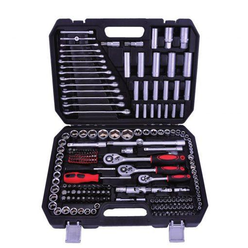 """Outil professionnel Kraftmax KF-216: Jeu de 216 prises PCS (1/4 """"& 3/8"""" & 1/2 """")Il y a quelque chose de nouveau pour tous ceux qui recherchent un ensemble complet d'outils qui fonctionnent non seulement de manière pratique"""