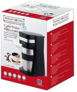 délicieux et aromatique avec la cafetière portable KME-700.325.4 de Royalty Line. Vous pouvez maintenant profiter de votre café parfait et savoureux à tout moment de la journée. Le design est pratique et ergonomique