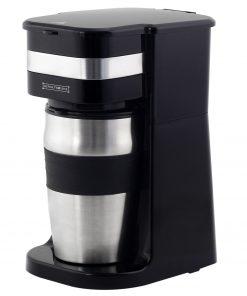 <p><b>Royalty Line KME-700.325.4: Cafetière Portable Avec Tasse de Voyage</b></p><p>Créez une tasse parfaite de café préparé frais