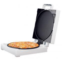 Royalty Line PZB-1200.149.1: Machine à PizzaCréez une pizza délicieuse en un instant avec la Royalty Line PZB-1200.149.1: Machine à pizza. est un appareil de cuisson à surface antiadhésive à la fois compact