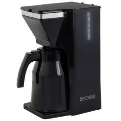 Royalty Line TKM.900.325: CafetièreProfitez d'un café parfaitement frais et aromatique à tout moment de la journée avec la cafetière TKM.900.325: Royalty Line. Cette cafetière est facile et simple et offre une puissance de 800w. Fabriqué à partir d'un corps en ABS de haute qualité avec un accent en acier inoxydable