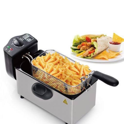 Royalty Line EFT-2000L; Friteuse 3LParfait pour la friture sucrées et salées y compris les frites