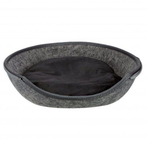 ce lit pour chat est doté d'un rembourrage en mousse qui garantit un espace de repos moelleux. Le lit est entièrement doublé de tissu moelleux. J'ai une surface douce qui favorise le sommeil