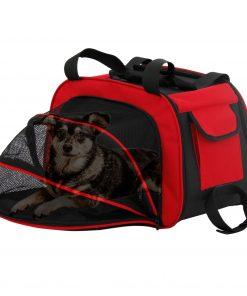 """<div><strong style='font-family: """"dancing script""""; font-size: 18px;'>Royalty Pets DCB-1.490</b><b> Sac de transport pour chien - Toby</b></div><div> </div><div> </div><div>Profitez de voyager avec votre chien et rendez chaque sortie familiale plus amusante pour tous. Ce sac de voyage spacieux vous permet de garder votre petit animal avec vous dans les avions"""