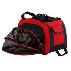 Royalty Pets DCB-1.490 Sac de transport pour chien - Toby  Profitez de voyager avec votre chien et rendez chaque sortie familiale plus amusante pour tous. Ce sac de voyage spacieux vous permet de garder votre petit animal avec vous dans les avions