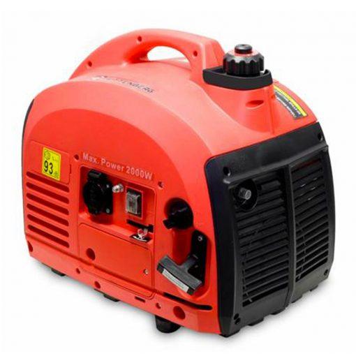 Widmann WM2500W: Générateur Inverter Portable à Essence - 650W Le Widmann WM2500W est un générateur d'onduleur portable à haute efficacité et à essence. Ce groupe électrogène a une portée maximale ou maximale de 1