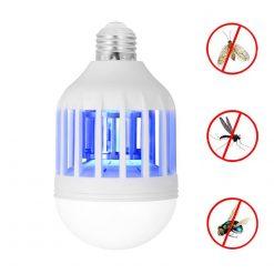 Cenocco CC-9061: Ampoule 2en1 Anti-InsectesRévolutionnez l'éclairage de votre maison avec l'ampoule 2en1 anti-insectes de Cenocco. Cette ampoule LED produit 1200 lumens de luminosité avec une consommation électrique de 15 watts. Économique et fiable