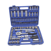 "Kraf TWorld Professional-line KW-108PCS; Socket Set 108pcs- Douilles 18PCS -1/4 ""DR: SL4"