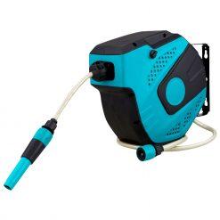 Herzberg HG-8025: Enrouleur Automatique de Flexible à eau