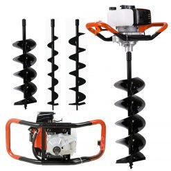 Herzberg HG-8049EA: Tarière à TerreLa perceuse et la pelleteuse ultime avec une innovation étonnante dans les outils électriques d'extérieur est maintenant là! Présentation de la Herzberg HG8094