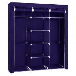 Herzberg HG-8011: Armoire de rangement - MoyenneOrganisez vos affaires avec style et agrémentez votre chambre avec le HG-8011 de Herzberg. Construit avec un cadre en acier robuste enduit de poudre
