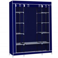 Herzberg HG-8009: Armoire de rangement - GrandeOrganisez vos affaires avec style et agrémentez votre chambre avec le HG-8009 de Herzberg. Construit avec un cadre en acier robuste enduit de poudre
