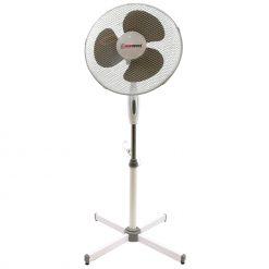 Royalty Line HG-8018: Ventilateur sur pied pour ventilateur de plancherLe ventilateur Herzberg est un ventilateur de pied au design élégant qui se fondra sûrement dans le décor environnant tout en offrant un vent frais dans toutes les pièces. Utilisant des matériaux de haute qualité