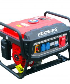 Herzberg HG-8500WX: Générateur D'essence ProfessionnelLe générateur à essence professionnel Herzberg HG-8500WX est conçu pour fournir une puissance fiable et maximiser la nécessité et la commodité en cas d'urgence. Robuste et portable