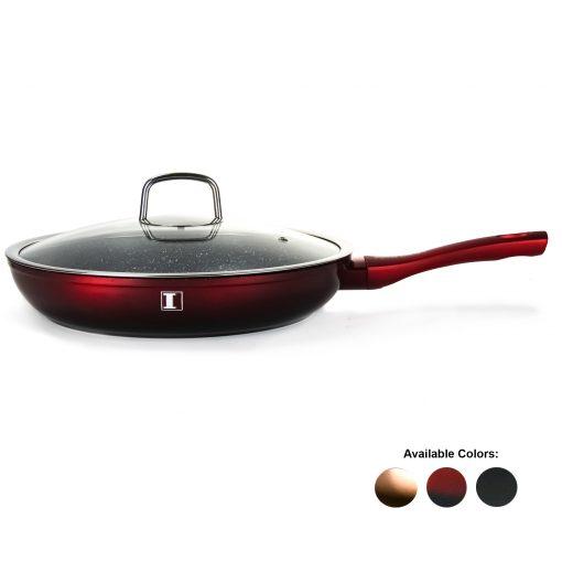 cette casserole offre une distribution de chaleur rapide et bien équilibrée et est compatible avec toutes les tables de cuisson