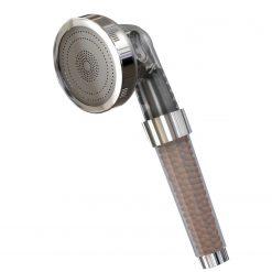 Herzberg HG-5032: Pommeau de Douche Minéralisé à 3 ModesProfitez du spa luxueux et haut de gamme avec le pommeau de douche minéralisé Herzberg HG-5032: 3 modes. Cette pomme de douche est compacte et puissante. Elle produit un mode de pulvérisation à 3 modes d'eau: pluie