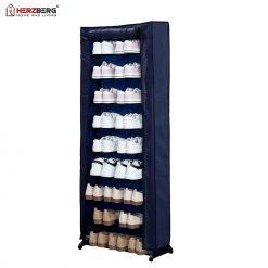 Herzberg HG-8076: Petit Organisateur de Porte-chaussures à 9 NiveauxOrganisez et triez soigneusement vos chaussures avec la HG-8076