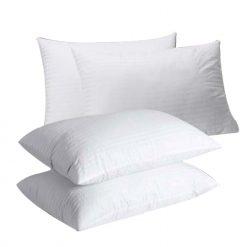 Herzberg HG-7048PP: Oreiller de Haute Qualité 4 pièces Pour Mieux DormirLes oreillers Herzberg sont des oreillers de luxe remplis de fibres creuses non allergènes à un prix abordable. donnez à votre chambre un confort royal